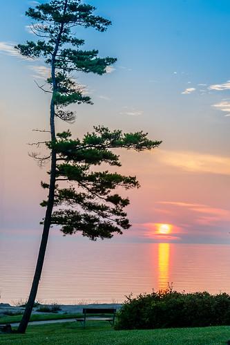 sunset fall wisconsin sunrise geotagged lakemichigan doorcounty 2014