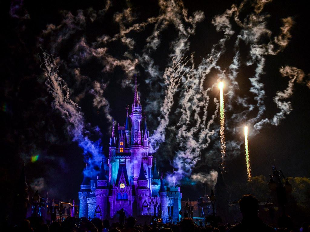 HalloWishes purple castle smoke
