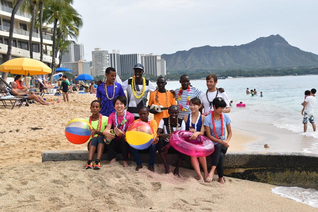 2016 Honolulu Marathon Photoshoot At Outrigger Reef Waikik