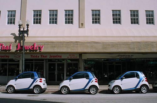 Car2Go Downtown Miami | by Phillip Pessar