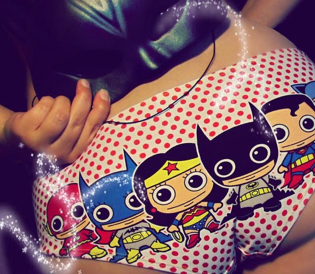 Thursday October 16th, 2014 Day 289 Superhero  Sassy Pants and batman mask