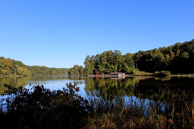 The Big Lake at Umstead State Park