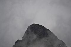 Gente en el Pico Anayet (2.545m)