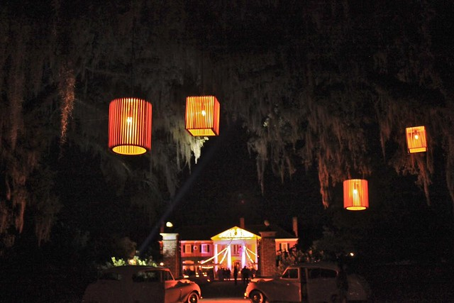 Cypress Cage Chandeliers