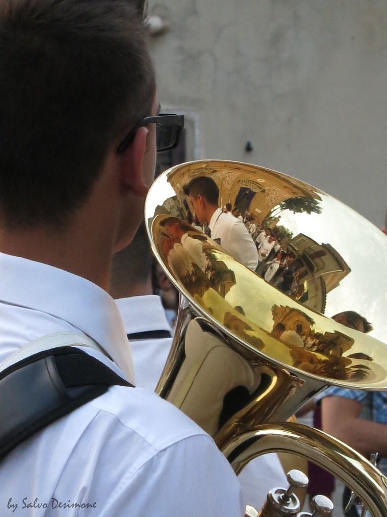 Festa Madonna del Mazzaro banda musicale