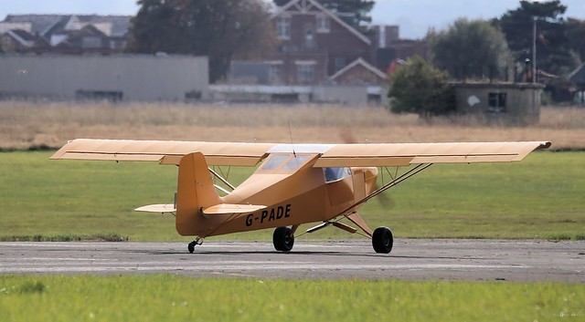 Reality Escapade, G-PADE Lee on Solent Airfield 2014