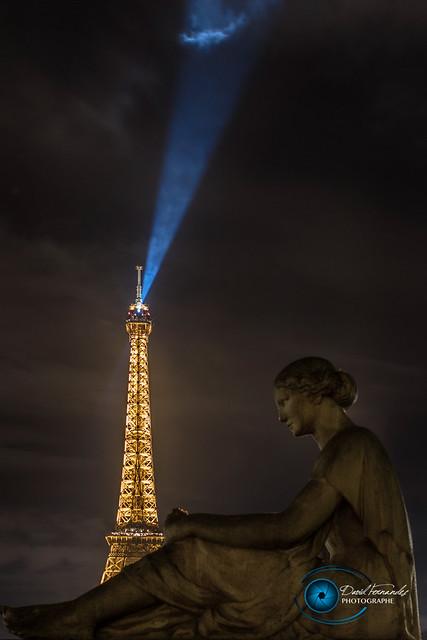 Statue at Trocadero