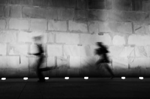 Racing Around the Monument