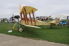 G-AWYI RAF BE.2c Sywell 030911