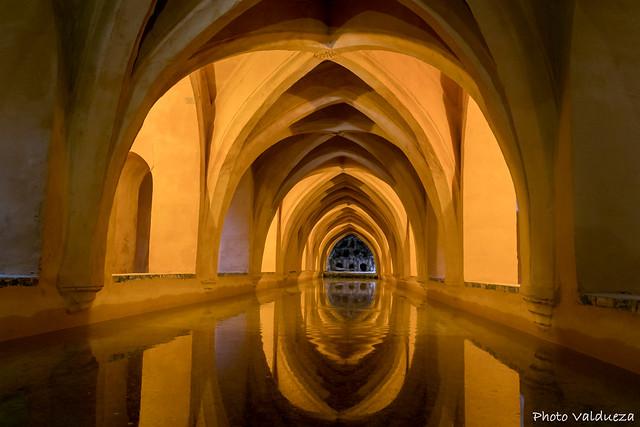 Baños de María Padilla. Real Alcázar de Sevilla