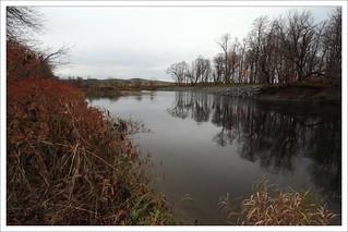 La rivière Nicolet passe dans le domaine des Frères !
