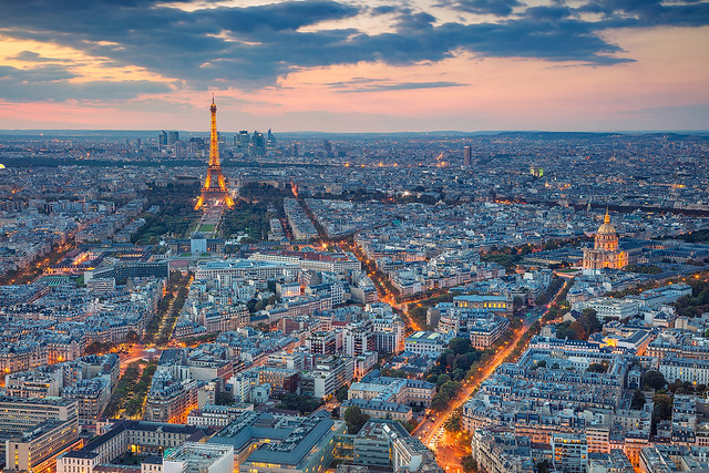 Paris Twilight.