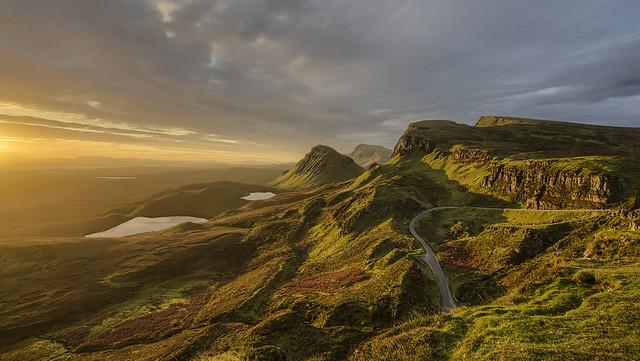 Sunrise Quiraing Isle of Skye Scotland 10/2016