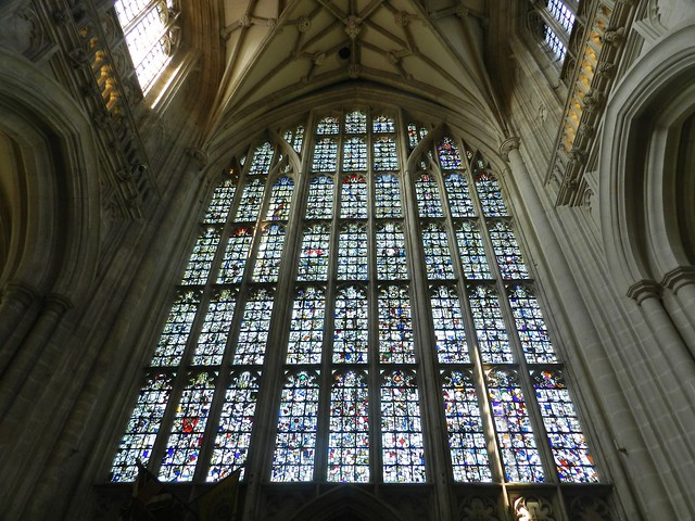 The West Window, Winchester Cathedral, Winchester, Sep 2016