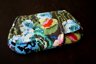 amy butler pocket clutch