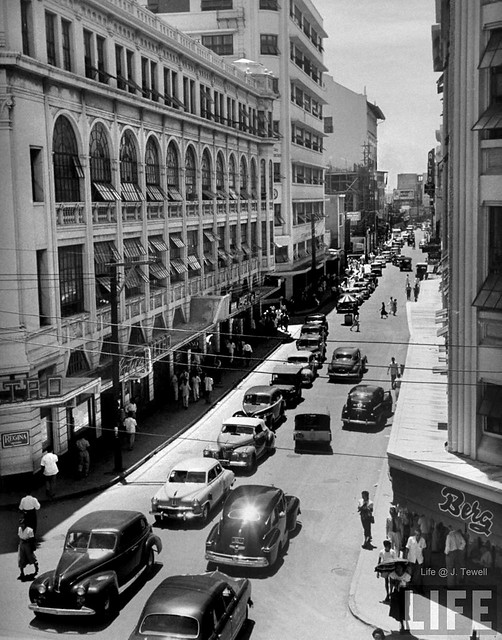 Escolta, Manila, Philippines, October 1949