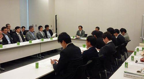 2014年10月16日 選挙権年齢引き下げに関するプロジェクトチーム | by takemasa_today