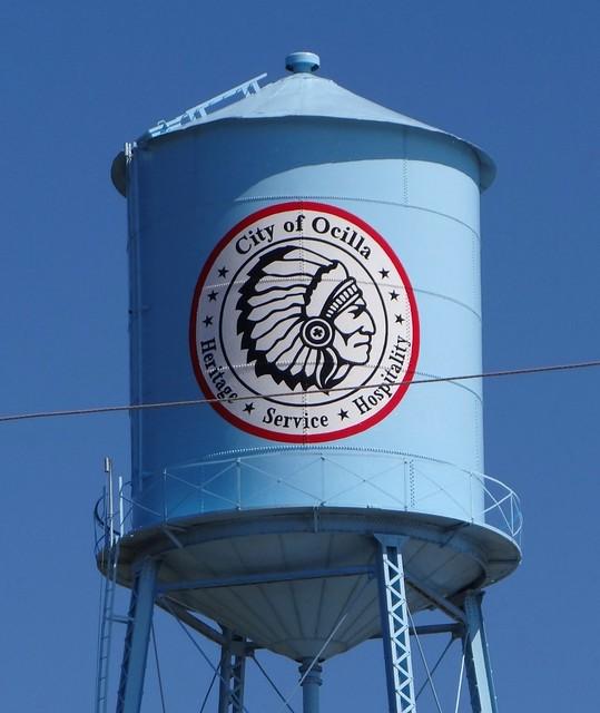 GA, Ocilla-Municipal Water Tower