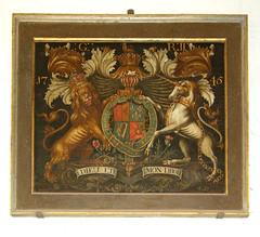 1745 royal arms for G II R