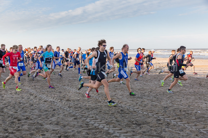 Beach Cross Duathlon Noordwijk 2014