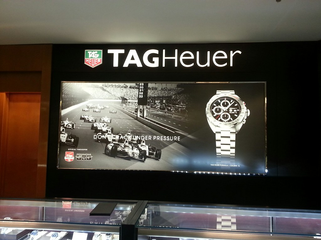 Tag Heuer Duratran In Retail Store   40 VISUALS   Flickr