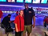 Had a blast bowling with Carrie and the rest of the crew at the Cardinals bowling event. Great time!