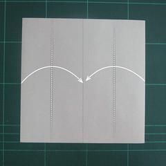 การพับกระดาษเป็นรูปแรด (Origami Rhino) 001