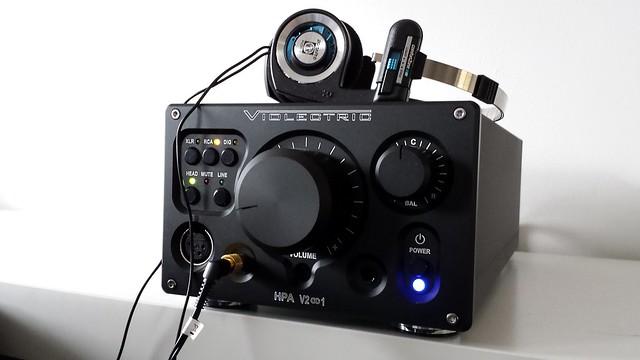 Violectric V281 & Koss PortaPro