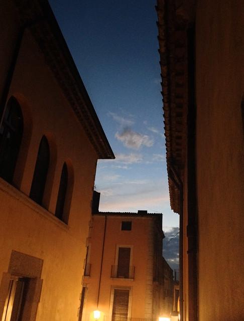 Nightfall from Balcony