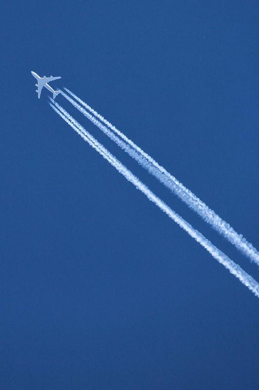 Lindsay Ontario ~ Canada ~ Jet Stream Over LIndsay
