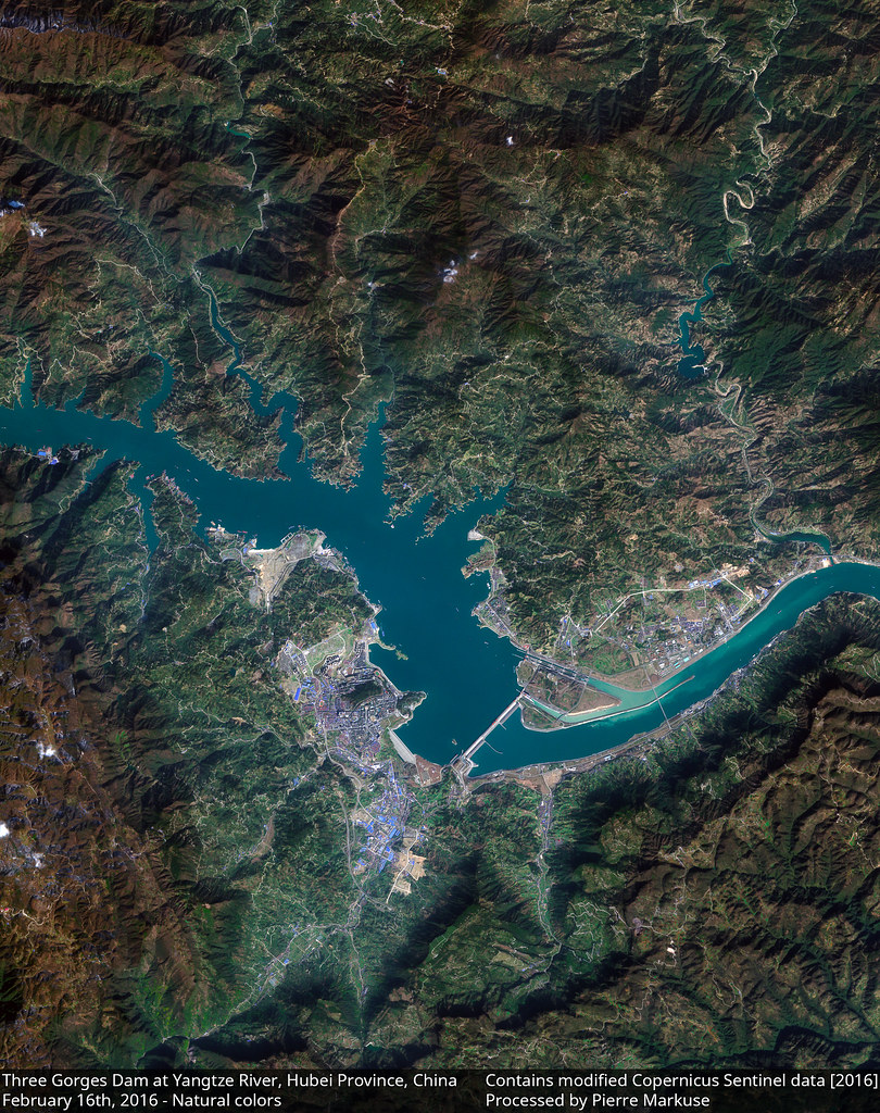 Earth from Space: Three Gorges Dam, China
