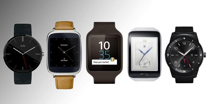 evolucion de relojes