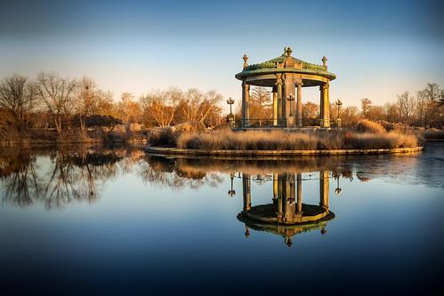 sunrise bandstand forest park forestpark stlouis saintlouis pagodacircle muny canoneos5dmarkiv