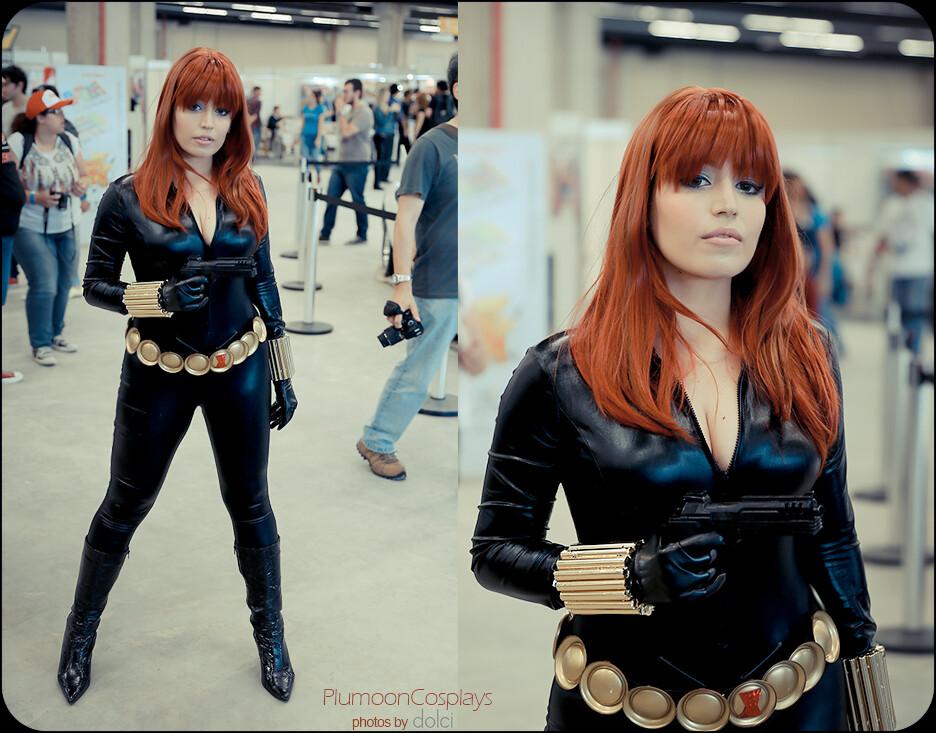 Brasil Comic Con Black Widow Cosplay Me As Black Widow A Flickr