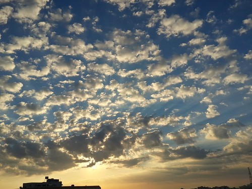 mobile clouds sunrise photography amman