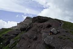 Collado entre el Vértice de Anayet y el Pico Anayet