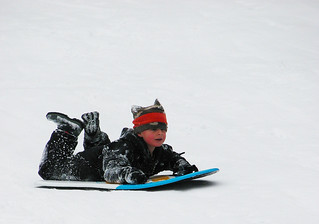 Snow-Filled Fun in Medford | by BLMOregon