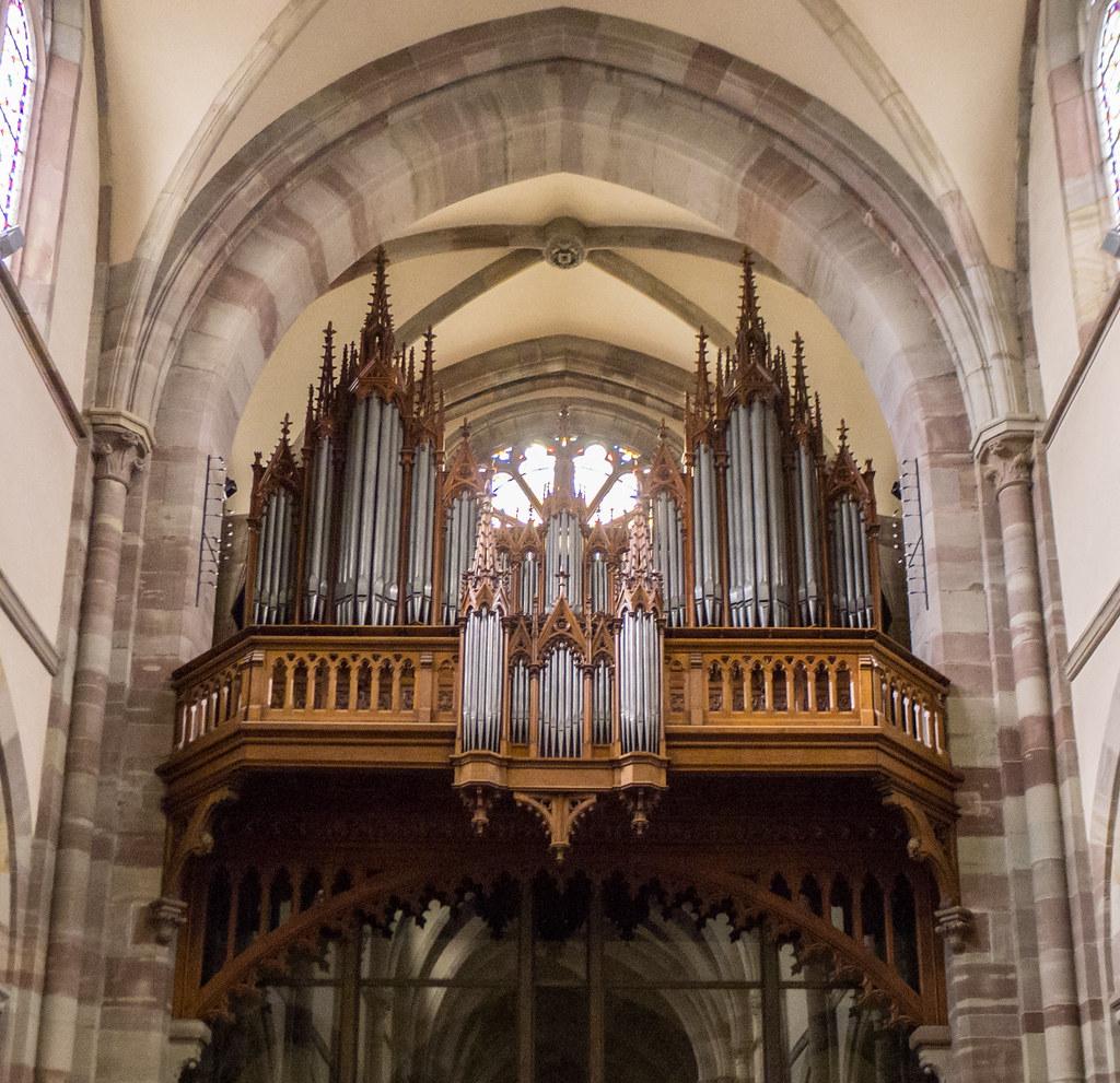 Architecte Bas Rhin orgue (1882, 2001) merklin, église saints-pierre-et-paul