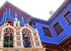 Greece, Macedonia,  Chalkidiki, Agio Oros, Dochiariou greek orthodox byzantine monastery (10th century) Mount Athos