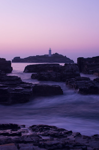 godrevy lighthouse - cornwall - GB | by Anna Sterling Art