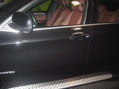 Puerta Piloto. Pulido BMW X6 Después del Tratamiento.