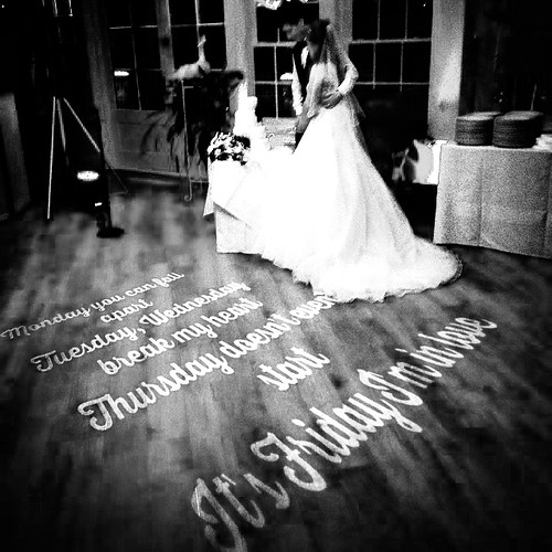 First Dance Song Lyrics in Animated Monogram | by Alex Birtwell
