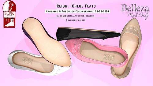 Reign.-Chloe-Flats
