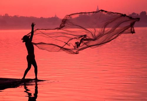 Casting a Net Irrawaddy | by Traveloscopy