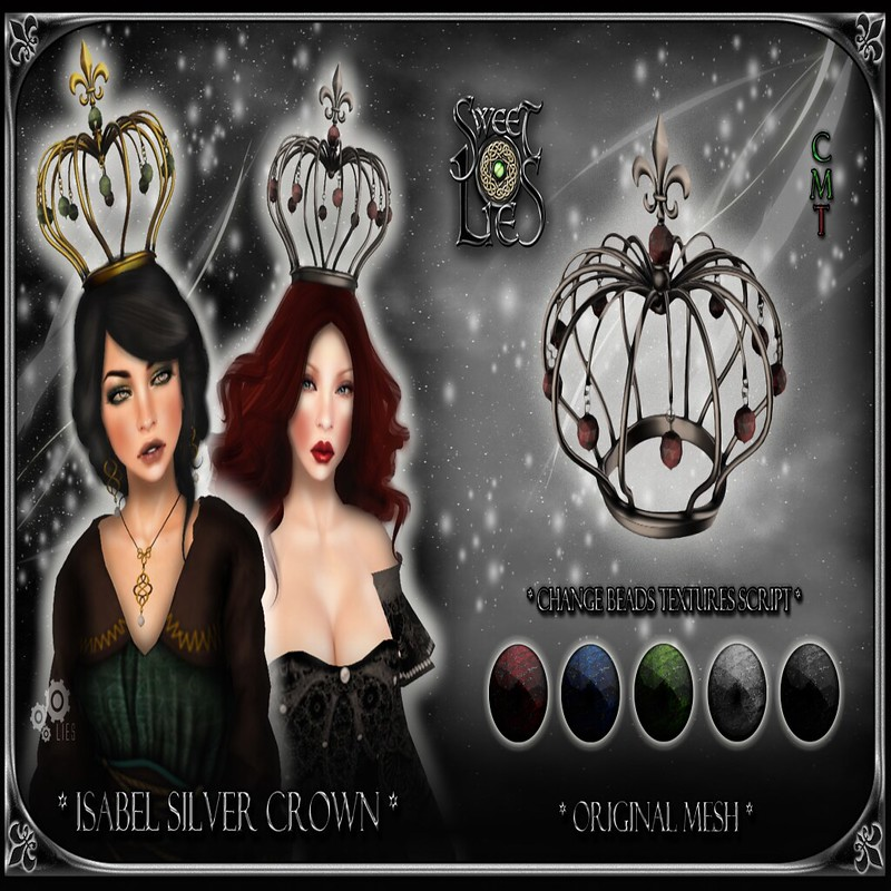 Isabel Silver Crown - Sweet Lies Original jpg