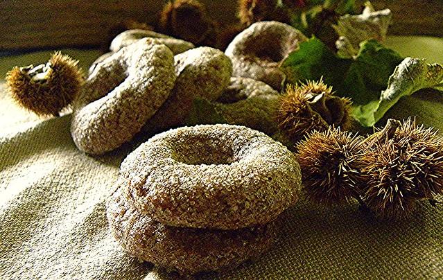 ciambelline di farina di castagne e di solina (2)
