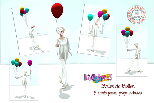 [KoKoLoReS] Ballet de Ballon pose set