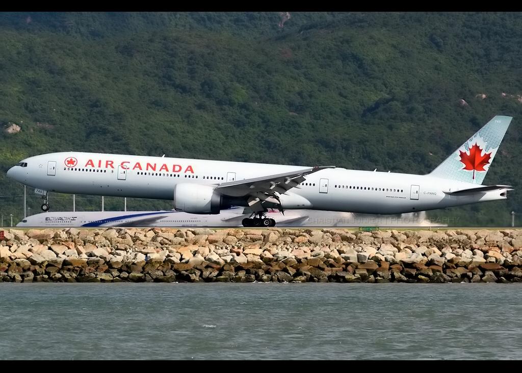 B777-333/ER | Air Canada | C-FNNQ | HKG