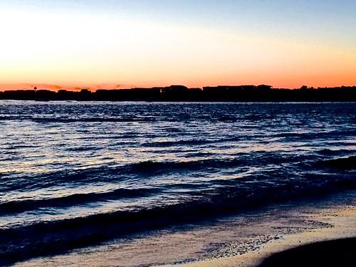 ocean sunset northcarolina oakisland
