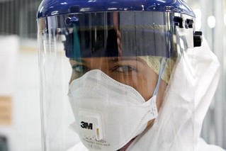 Safety gear to provide maximum protection from Ebola | by DFID - UK Department for International Development